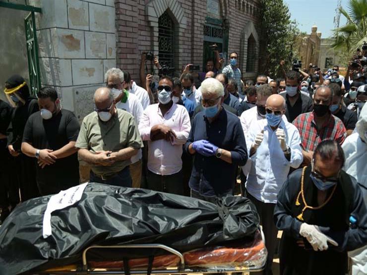 جنازة رجاء الجداوي