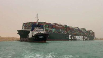 Photo of لن تصدق كيف تم تحريك السفينة الجانحة في قناة السويس (شاهد)