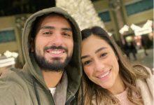Photo of رسالة رومانسية من محمد الشرنوبي لزوجته في عيد زواجهما (شاهد)