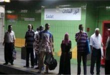 Photo of لهذا السبب خلع شاب ملابسه بالكامل في محطة مترو السادات