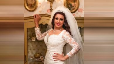 Photo of سمية الخشاب تخطف الأنظار بفستان منقوش قصير (صور)