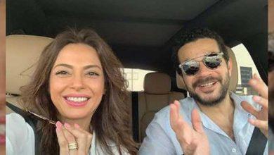 Photo of لقطة رومانسية..داليا مصطفى وشريف سلامة يخطفان الأنظار في أحدث ظهور (صور)