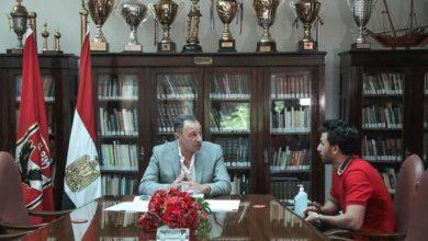 Photo of تفاصيل جلسة الخطيب مع تريزيجيه في النادي الأهلي