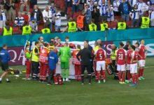 Photo of أول ظهور لـ كريستيان إيركسن بعد إصابته الخطيرة في مباراة الدانمارك وفنلندا (صورة)