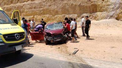 Photo of بينهم أجانب.. مصرع وإصابة 10 أشخاص في حادث تصادم بالعين السخنة
